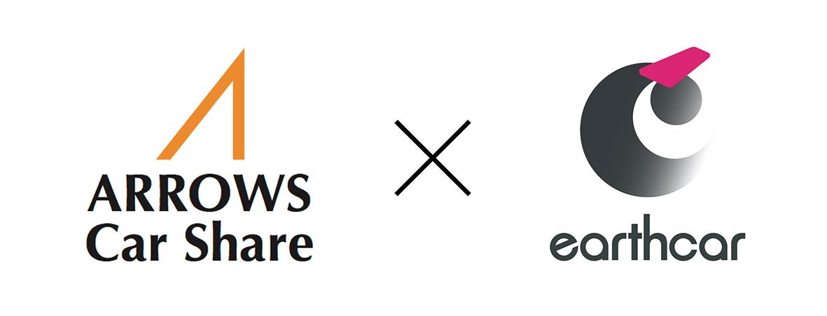 ARROWS Car Share × earthcar